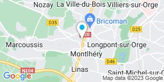 Plan Carte Martin Michel,Coric Hervé, Leoty Yann et  Savary Olivier à Longpont Sur Orge