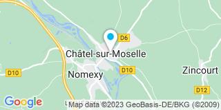 Plan Carte Cunrath Anne-Lise à Châtel-sur-Moselle