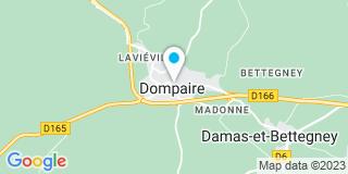 Plan Carte Delorme Delphine à Dompaire