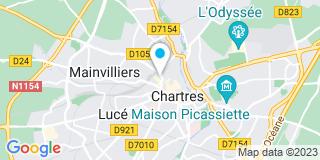 Plan Carte Patricia Bellia-Maugas à Chartres