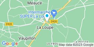 Plan Carte Séverine Bouix-Echivard à La Loupe