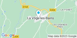 Plan Carte Meline Stéphanie à Bains-les-Bains