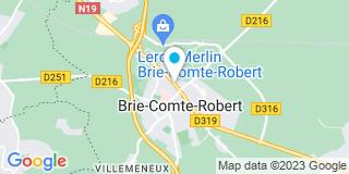 Plan Carte L'office notarial de Brie-Comte-Robert