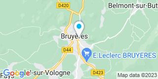 Plan Carte Petitgenet Cathy à Bruyères
