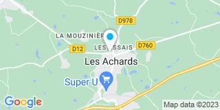 Plan Carte Chaigneau Benoît à La Mothe-Achard