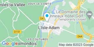 Plan Carte Vincent Annebicque et Charles Lefèvre à L'Isle-Adam