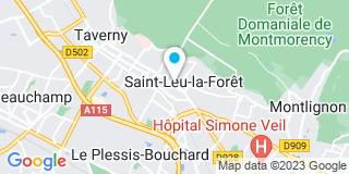 Plan Carte Office notarial de Saint-Leu-La-Forêt à St-Leu-la-Forêt