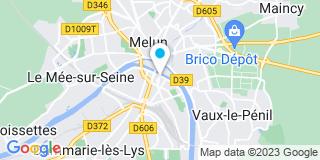 Plan Carte L'étude notariale de Melun