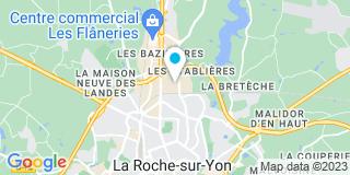 Plan Carte Céline Lecomte et Thierry Eveillard à La Roche-sur-Yon