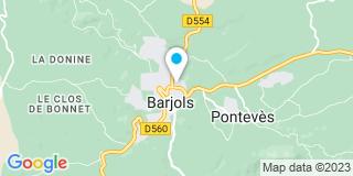 Plan Carte Galiana Vincent à Barjols