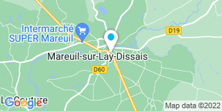 Plan Carte Franck Baron à Mareuil-sur-Lay-Dissais