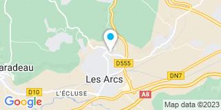 Plan Carte Giraud Catherine aux Arcs