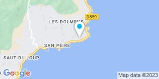 Plan Carte Riffaud Nicolas à Roquebrune-sur-Argens