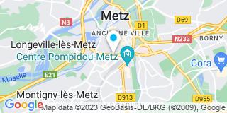 Plan Carte Catherine Bonichot et Anne Girard à Metz
