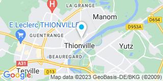 Plan Carte Gilbert Graziosi et Donato Fella à Thionville