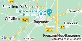 Plan Carte Arnaud Hote et Philippe Brette à Pabaume