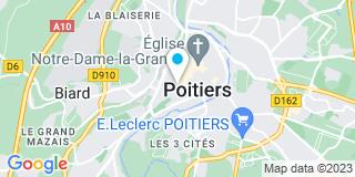 Plan Carte Guibert Stéphane à Poitiers