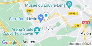 Plan Carte Donat Bernard, Anne Pringere-Donzel et Antony Vermunt à Liévin