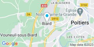 Plan Carte Eric Sabatier à Poitiers