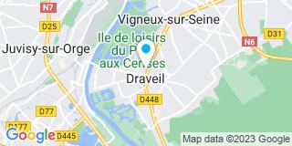 Plan Carte Martine Dieulesaint à Draveil