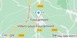 Plan Carte Notaire Gilles Auger  à Foucarmont