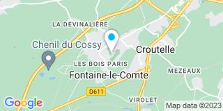 Plan Carte Marie-France Lafargue-Mongis et Matthieu Mongis à Fontaine-le-Comte
