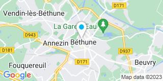 Plan Carte Guy Feret, Hervé Lebray, Philippe Lhomme et Maxime Houyez à Béthune