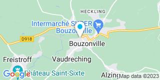 Plan Carte Emmanuelle Thiriet à Bouzonville