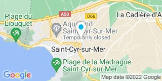Plan Carte Garrido, Trotobas et Laurito-Varral à St-Cyr-sur-Mer