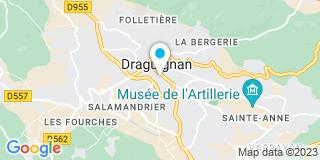 Plan Carte Vallet, Bain et Concedieu-Oullier à Draguignan