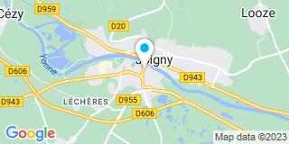 Plan Carte Lambert Caroline à Joigny