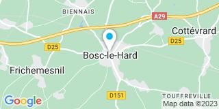Plan Carte Notaire Gérard Moreau à Basc Le Hard