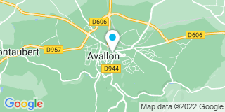 Plan Carte Leguy Gérard à Avallon