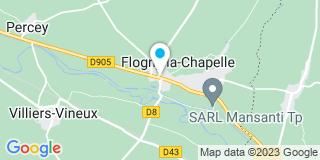 Plan Carte Mortreux Magalie à Flogny-la-Chapelle