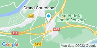 Plan Carte L'étude notariale de Grand Couronne