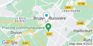 Plan Carte Hervé Six à Bruay-la-Brussière