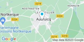Plan Carte Jacques Fauquet et Anne Delplace-Piers à Audruicq