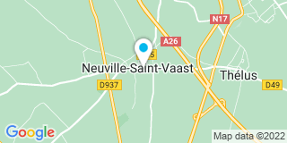 Plan Carte Loïc Houzet et Wandrille Wemaere à Neuville-Saint-Vaast