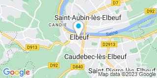 Plan Carte L'étude notariale d'Elbeuf sur Seine