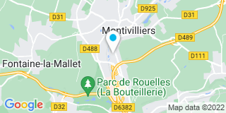 Plan Carte Les notaires Christian De Geuser et Véronique Tonneau à Montiivilliers