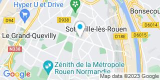 Plan Carte Les notaires Dominique Gruel et François-Xavier Lepesqueur à Stteville les Rouen