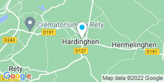 Plan Carte Isabelle Richez-Beal à Hardinghen