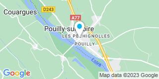 Plan Carte Anne Juillet à Pouilly-sur-Loire