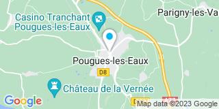 Plan Carte Philippe Menigoz à Pougues-les-Eaux