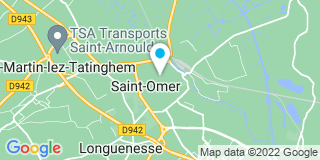 Plan Carte Paul-Henry Stoven et Guillaume Jacquart à Saint-Omer