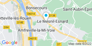 Plan Carte L'office notarial de Le Mesnil Esnard