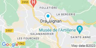 Plan Carte D'Arbois de Jubainville, Rimbaud et Balbo à Draguignan