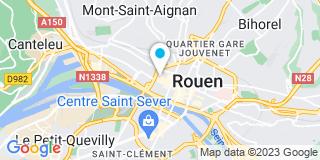Plan Carte Les notaires Grégoire Ozanne et Christine Penot à Rouen