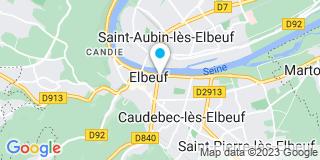 Plan Carte Notaire Denis Sterlin à Elbeuf