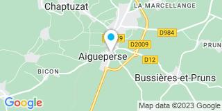 Plan Carte Sauvage Jean-Jacques à Aigueperse